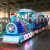 Perfect Fun ! Children Amusement Equipment Electric Small Trains for Parks