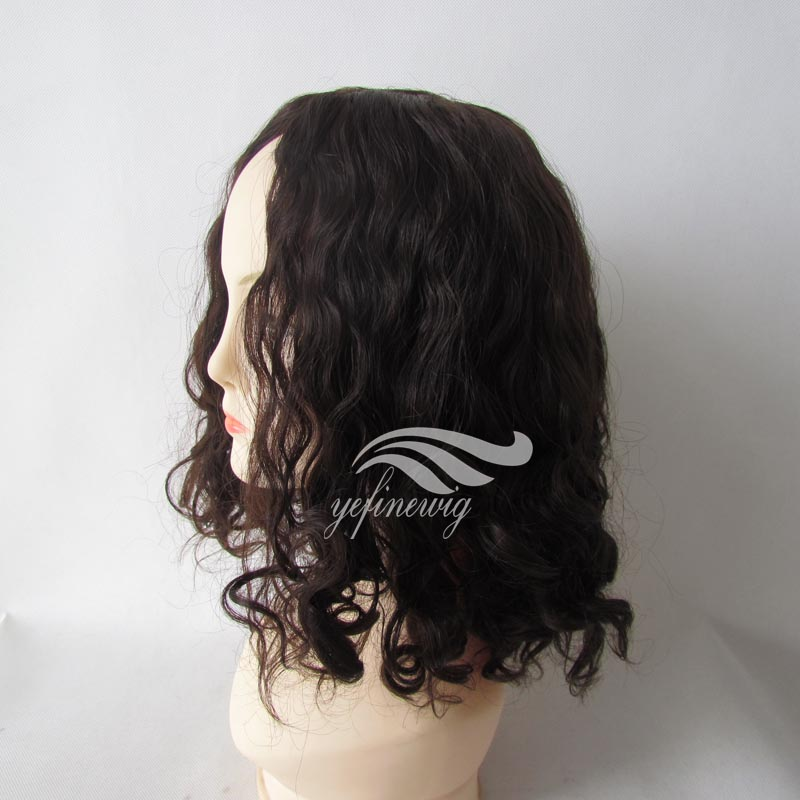 Natural Hairline Body Wavy Bob Style Short Pixie Human hair Wigs