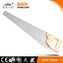 wood handle High Carbon Steel Different length hand held concrete cutting saw for cutting meat