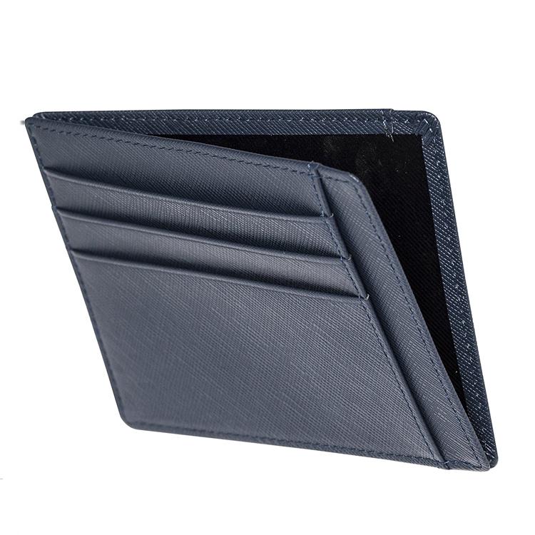 Leather Slim RFID Wallet Card Holder
