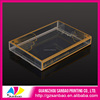 Transparent PVC Boxes For Chocolate Chip Fudge Sauce Packaging