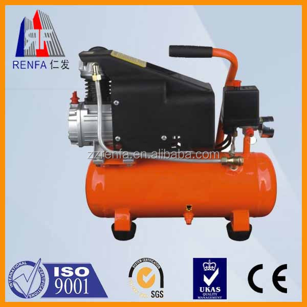 Oil-free electric portable air compressor