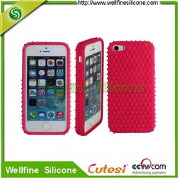 Wholesale abrasion silicone cellphone back cover,water-drop mobile phone back cover case