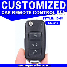 Duplicate Car Key Maker 3 Buttons 433Mhz Duplicate Car Key Maker ID48 For VW Skoda MTF-100603