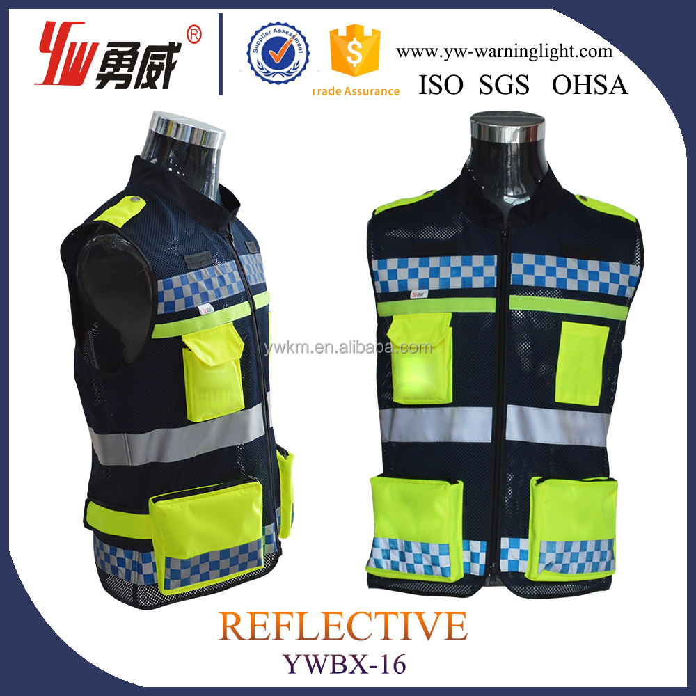3M/5M Protection Mesh Reflective Safety Vest Closure One Size Fits All--- wholesale online