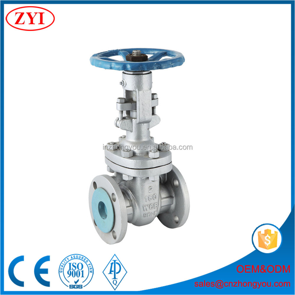 from the ground 4m long chain wheel gate valve