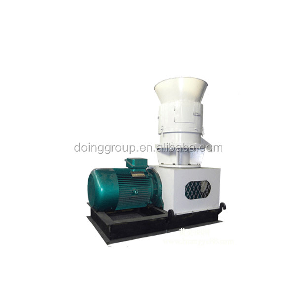 Flat die high output wood pellet mill