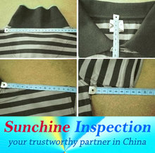 garments inspection/textile products in guangdong/quality control service/before shipment business cooperation