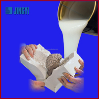 rtv liquid silicone rubber for plaster casting cornice molds making