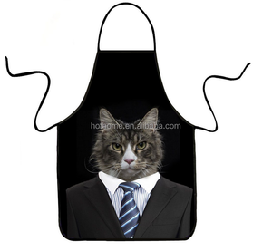 Promotion Good Quality Funny Printing Kitchen Apron for man/ Cooking Apron /Adult Bib Apron