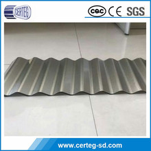 low cost metal galvanized corrugated steel roofing sheet price