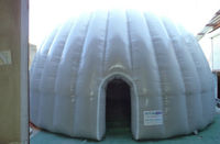 inflatable planeterium tent