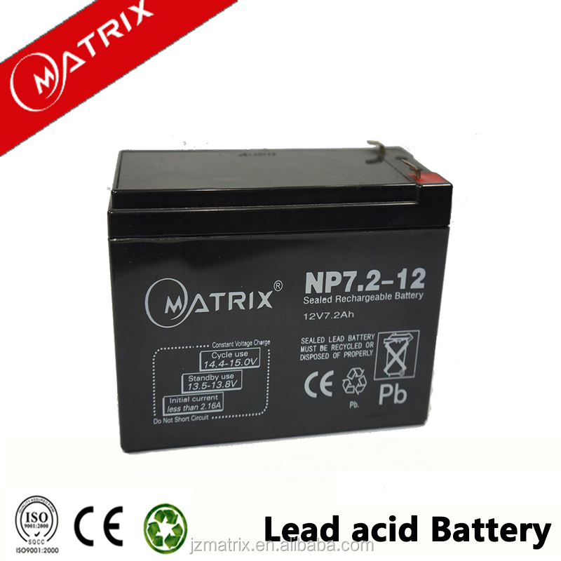high quality GELmaintenance free lead acid battery 12v 7.2ah wholesale