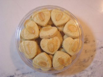 Home-made Crispy Almond Cookies
