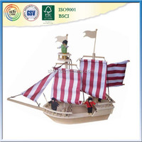 WOODEN PIRATE SHIP-----THE MOST POPULAR IN 2015