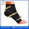 Colored elastic ankle support,nylon/spandex fibre, knitting ankle support