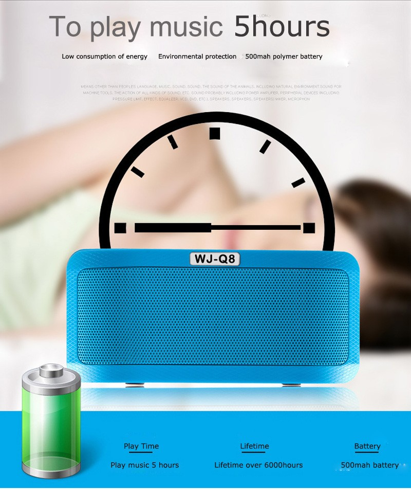 Portable Wireless Bluetooth Speaker 20W Outputfrom Dual 10W Drivers with Passive Radiator and Mic for iPhone