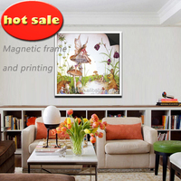 wall decoration picture frame & magnetic print painting 1013-43