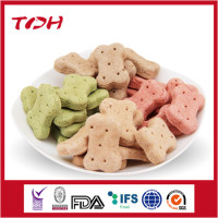 Hami melon flavor pet biscuits natural dog food factory
