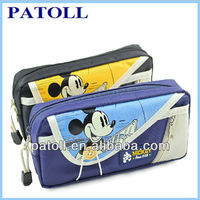 Multi-function cartoon clear pencil bag