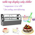table top cake display cooler