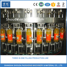 Wholesale Automatic Rum Wine Carbonated Beverage Beer Soft Drink Pure Water Liquid Hot Filling Machine / Production Line