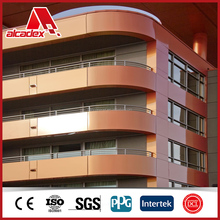 5mm 6mm 7mm 8mm 9mm 10mm thick Aluminium composite panel