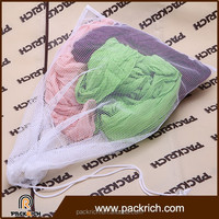 Wholesale custom high quality nylon laundry mesh bag