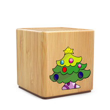 Hairong 2016 wooden bluetooth speaker with led light for business gift speaker bluetooth