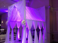OEM Pipe for curtain,pipe n drape for wedding decoration wedding backdrop