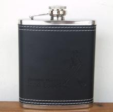 stainless steel hip flask whisky flask