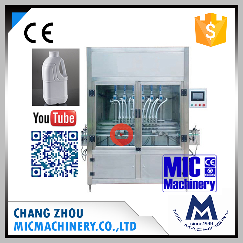 Best quality Micmachinery MIC-ZF12 12 heads auto vagina massage oil filling machine