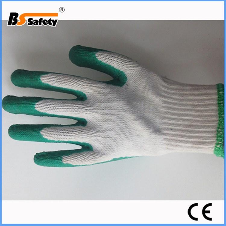 bssafety pas cher jetable vert latex gants pour les travaux de construction buy product on. Black Bedroom Furniture Sets. Home Design Ideas