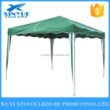En plein air 3x3 m acier meaterial pliage gazebo tente avec sac de transport