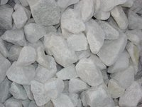 Natural White limestone, size 0- 5cm