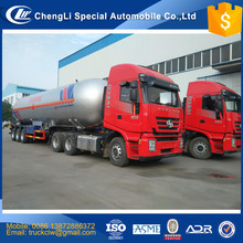 Professional technology Safety LPG GAS tanker Semi trailer 12 wheels Propane transportation truck trailer 30000 to 60000 liters