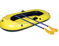 inflatable one person fishing paddle boat