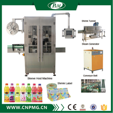 Plastic bottle automatic sleeve shrink labeling equipment/machine