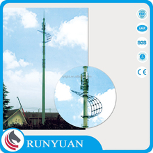 10-50m Q235 Stainless Steel Self Supporting Tower Hot Dip Galvanized OEM Design Communication Tower ISO9001:2008