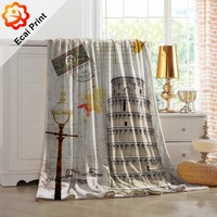 Creative wholesale sublimated custom made mexican blanket