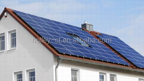Roof solar home system 20kW grid connected solar panel system used by most people