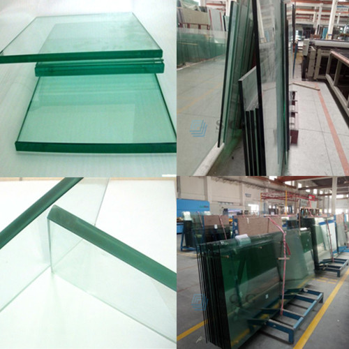 CE certified 10mm clear safety toughened tempered glass manufacturer