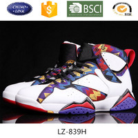 the latest breathable men pu leather Jordan basketball shoes sports shoes