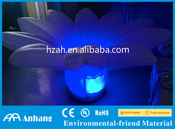 Big Inflatable Lighting Flower for Party Decoration