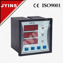 AC DC Panel Meter Red LED Digital Voltmeter