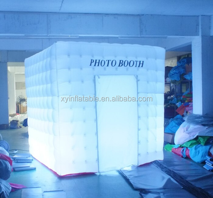 2016 Hot Sale photo booth,led inflatable photo booth for sale