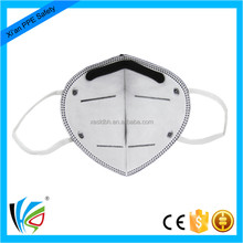 Anti Smoking Face Mask Activated Carbon Filter Dust Mask