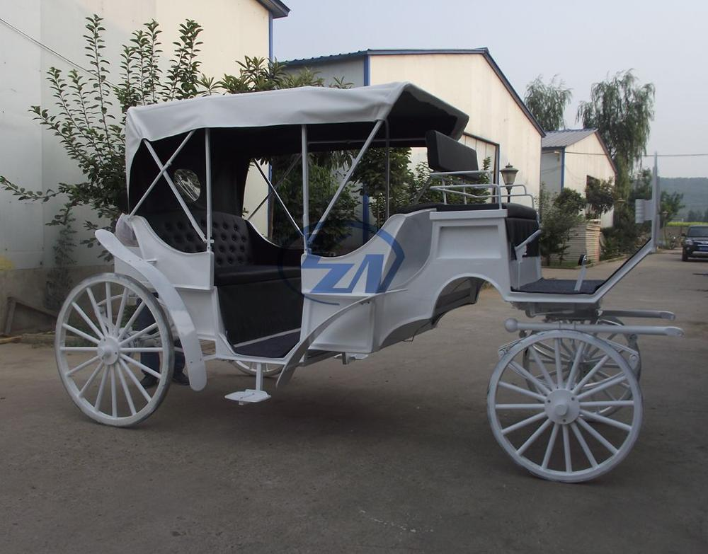 Wheels For Horse Carriage Vis-a-vis Sightseeing Horse and Carriage