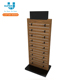 Retail Custom OEM Price Floor Wooden Shoe Display Rack