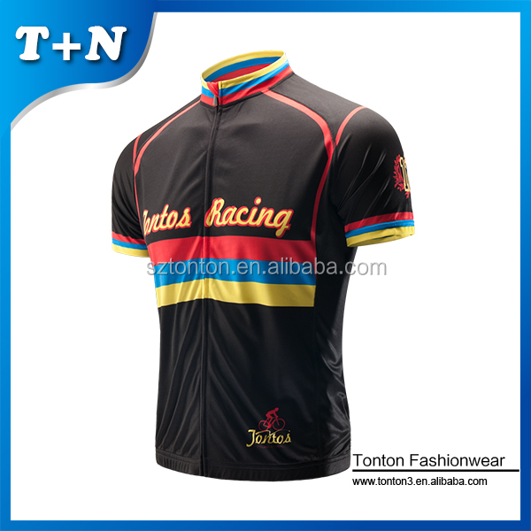 cheap short sleeve cycling jersey customized China sale